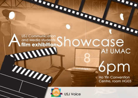 Movie Exhibition [USJ students will showcase] At University of Macau today!